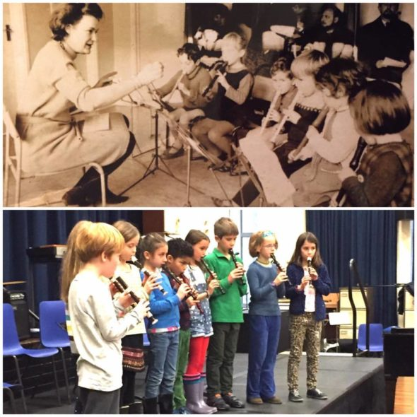 Recorders Then And Now