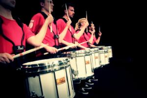 Workshop with Box9 Drumline