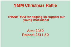 Christmas Raffle Results and Bursary Fund
