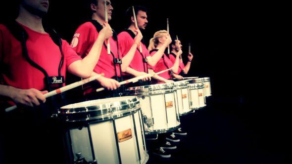 Workshop with Box9 Drumline