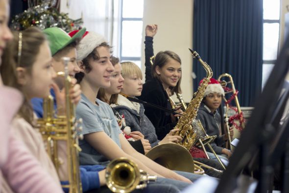 Junior Brass And Wind Christmas