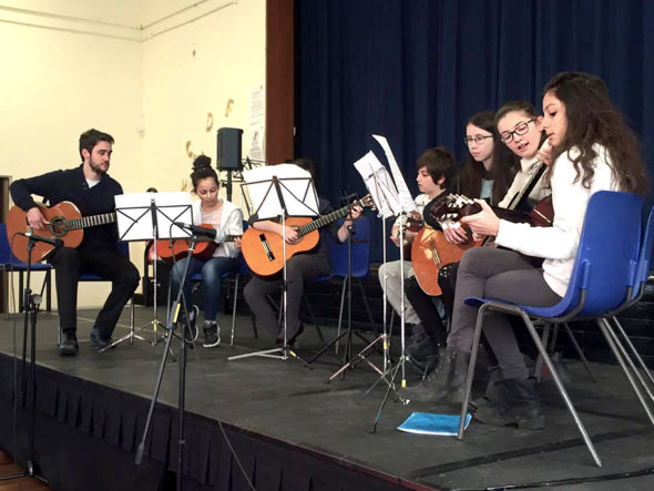 Junior Guitar Ensemble 21 1 17