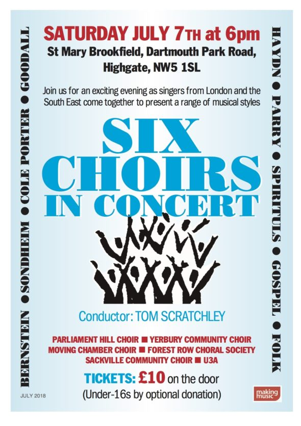 Six Choirs Flyer